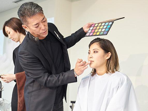 メイクアップアーティスト💄山口啓先生インテリジェンスセミナー‼
