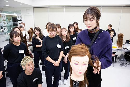 金子真由美先生によるヘアアレンジセミナー☆