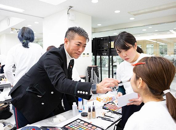 山口啓先生メイクアップセミナー2回目